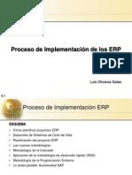 10.1  Implementación ERP