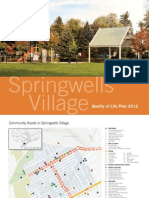 Springwells Quality Of Life Plan 2012