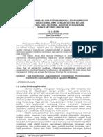 Komitmen Organisasi Dan Kepuasan Kerja Sebagai Mediasi