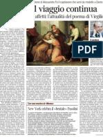 CESARE SEGRE Sulla Nuova Traduzione Dell'Eneide Per Einaudi - Corriere Della Sera 28.12.2012