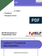 Method / Fungsi