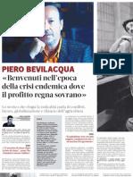 Intervista Allo Storico PIERO BEVILACQUA Sulla Crisi - Pubblico 28.12.2012