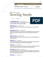 What Does the Bible Say About Sowing Seeds
