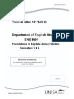 Tutorial Letter 101/3/2013