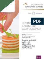 Communiqué de presse - International Catering Cup 2013 - fr