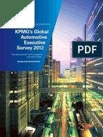 SelasTurkiye - KMPG Global Automotive Survey 2012 Excerpted