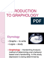Graphology PMHA Kriz
