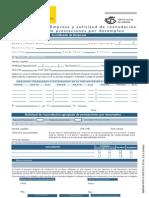 Modelo Certificado de Empresa empleo inem