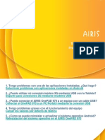 AIRIS OnePAD 970 - Preguntas Frecuentes