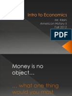 Intro to Econ/Economic Systems