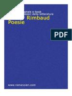 Arthur Rimbaud - Poesie