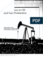 Oil and Gas Production
