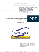 Tutorial Configuração OPC SimaticNET Rev00