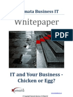 Whitepaper - IT and Your Business - Chicken or Egg