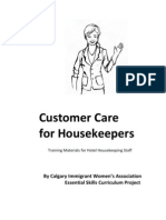 Customer Care for Housekeepers