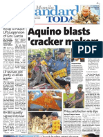 Manila Standard Today - Saturday (December 29, 2012) Issue
