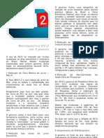 Retrospectiva Financeira/Econômica 2012