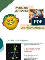 Niños Veganos Felices y Sanos