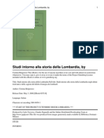 63808893 Cristina Belgioioso Studi Intorno Alla Storia Della Lombardia