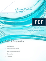 Presentation on MEMS