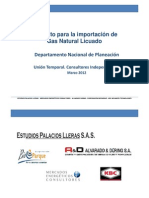 GNL EN COLOMBIA