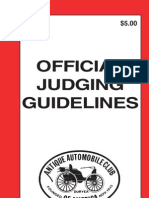 AACA 2011 Judges Guidelines