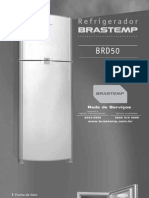 Geladeira Consul Manual do proprietário mod. BRD50ab