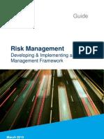 Risk framework