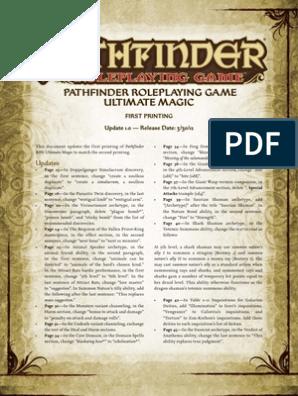 Ultimate Magic Errata | Copyright | Derivative Work