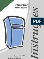 Geladeira Eletrolux manual do proprietário mod. DF50