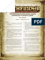 Advanced Players Guide Errata