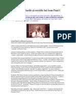 15. Scandalurile şi ereziile lui Ioan Paul I