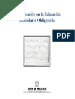 La Evaluación de la Educación Secundaria Obligatoria