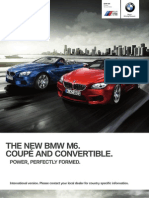 BMW M6 2012 Catalogue