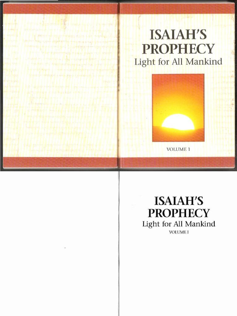 b00b96b7ac3615 Isaiah prophecy of light | Isaiah | Prophet
