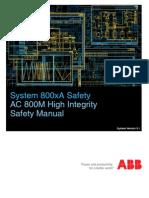 3BNP004865-511 - En System 800xA Safety 5.1 AC 800M High Integrity Safety Manual
