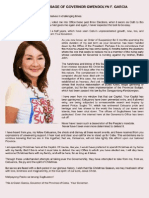 Cebu Governor Gwen F. Garcia's Christmas Message 2012