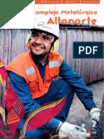 Reporte de Sostenibilidad 2011 Complejo Metalúrgico AltoNorte