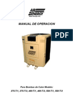 Heat Pump Spanish Manual 50 Hz V7