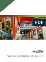 Reporte de Sustentabilidad Metro S.A 2011