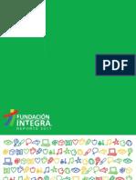 Reporte Fundación Integra 2011