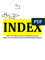 Index Of All Docs RE