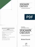 Sochastic Calculus - A Practical Introduction,Durrett,