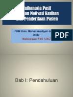 Contoh 1 (Euthanasia Pasif)