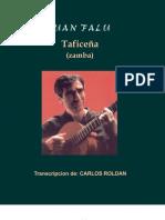 !Falu, Juan - taficeña (zamba)