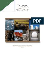 Reporte de Sostenibilidad 2010 Viña Tamaya