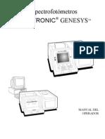 espectrofotómetro spectronic genesys