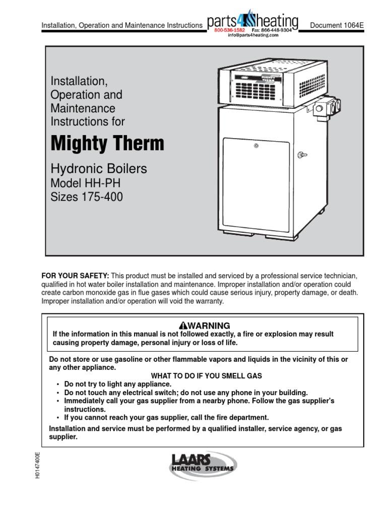 Fancy Laars Boilers Wiring Diagrams Pattern - Electrical and Wiring ...