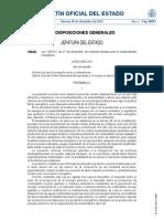 BOE-LEY 15_2012 Sostenibilidad Energetica