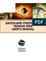 Safeguard Properties Vendor Web User's Manual